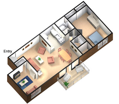 One bedroom apartments bill house plans for 1 bedroom and den apartments near me